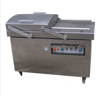 Food Packaging/Vacum Packing Machine with Double Chamber