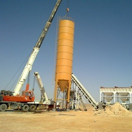 HZS Ready-mixed Concrete Mixing Plant, Concrete Mixing Plant, Concrete Batching Plant