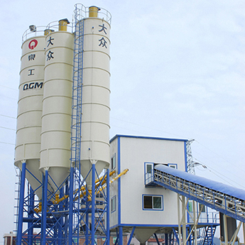 Wet ready-mixed cement batching plant