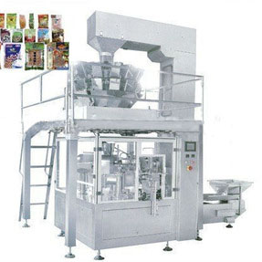 Solid (particle) automatic packing production line