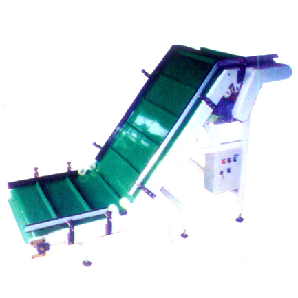 Hoisting type belt conveyor