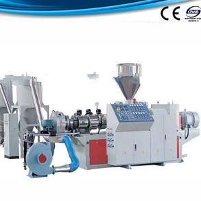 PVC and wood plastic hot-cutting granulation line