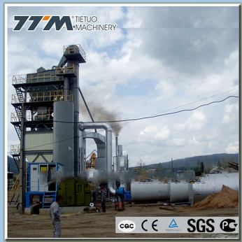 64t/h stationary asphalt mix plant GLB-800