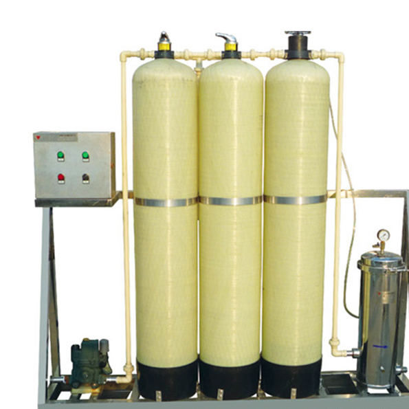pretreatment unit(sand filter carbon filter, softener)