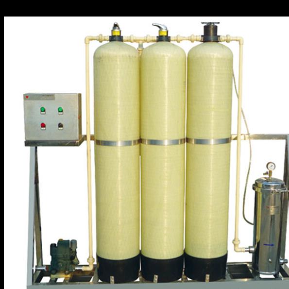 pretreatment unit(sand filter carbon filter, softener)