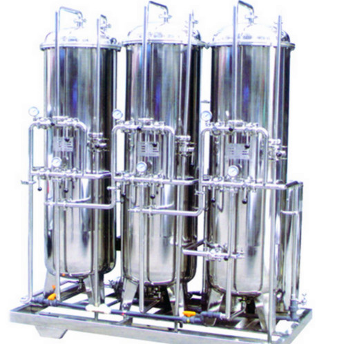 water pretreatment equipment (sand filter carbon filter softener)