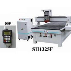 CNC Router Machine SH1325F with Travelling area 1260x2500mm and Working area 1240x2480mm