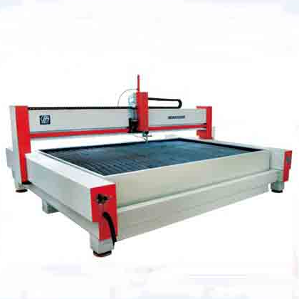 CNC water jet cutting equipment with different size cutting table and HP pump