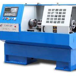 CNC Lathe Machine of metal