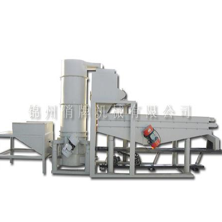 Almond inshell processing line