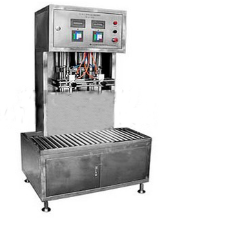 200L simple semi-automatic filling machine drum barrel