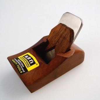 Handle-less Shungee-Rosewood Mini Polishing Plane