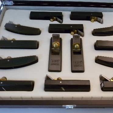 Mini Ebony Japanese Plane Superior Sets