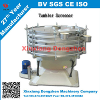 PVC EPS resin/Limestone Tumbler screening machine