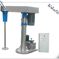 Single shaft grinding disperser