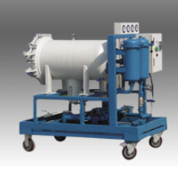 Polyester dehydrated lube oil purifier LYC–50J wit.