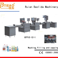GFP 12-12-1 washing,filling and capping equipment
