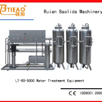 5T/H Reverse osmosis machine for pure water