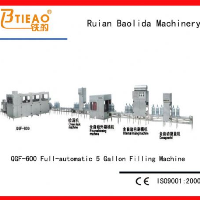 QGF-600full automatic barrel package production line
