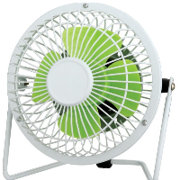 4 Mini Desk Fan-4 Mini Desk Fan 4A1-Green