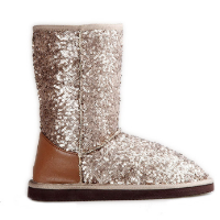 HC-106 Sparkle sequins snow boots