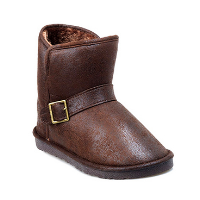 HC-802 faux leather snow boots