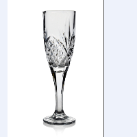 wholesale crystal decorative fancy elegant wedding cutting glass champagne flute