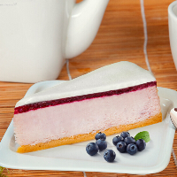 Bilberry Cheesecake