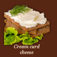 Cream curd cheese