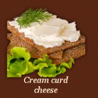 Cream curd cheese