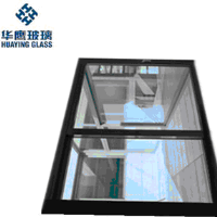 double glazed electric heated glass for environment protection
