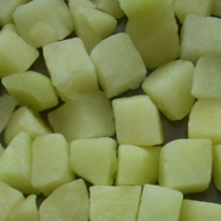 Frozen Apple Dices
