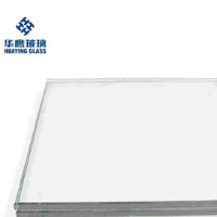 clear tempered Laminated glass thickness for building