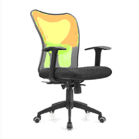 Leisure Classic Executive Staff Office Mesh high back office chair without wheels