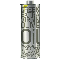 ILIADA Organic PDO Kalamata EXCLUSIVE Selection Extra Virgin Olive Oil - 500ml Tin