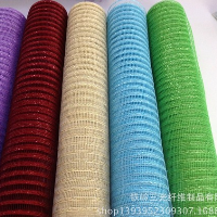 Plastic packing gauze