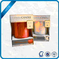 Wholesale recyclable paper luxury candle packaging boxes containers