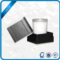 Decorative luxury designer paper candle packaging gift boxes