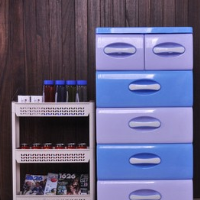 Double drawer cabinets finishing box