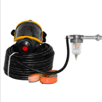 HTCK-3 Pipeline Compressed Air Full Face Mask with Filter