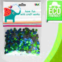 Elegant glitter confetti for party/round confetii