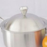 Five layer composite steel pot