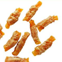 Chicken jerky dog snacks