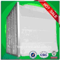 Galvanzied frame synthetic fiber medium efficiency pocket air filter