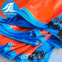 130gsm Blue and Orange waterproof pe tarpaulin sheet
