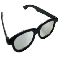 Circular Polarized palstic 3D Glasses