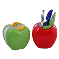 fashion and cheap plastic promotion gifts for pen container