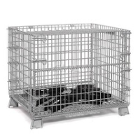 Stainless Steel Wire Mesh Storage Container L-2