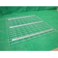 U- support wire mesh decking zinc plating