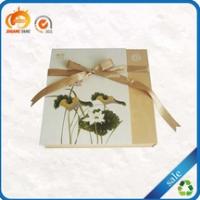 Fancy design wholesale decorative custom design cardboard gift box